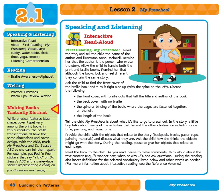 Preview of Sample Lesson 2.1 Interactive Read-Aloud